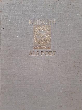 Klinger als Poet / Buch
