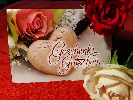 Gutschein - Rose / Wert 100,00 €