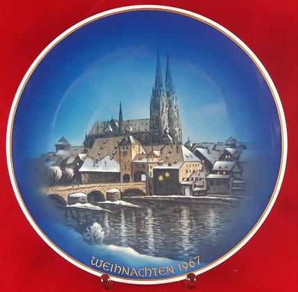 ROSENTHAL Weihnachten 1967 - christmas plate