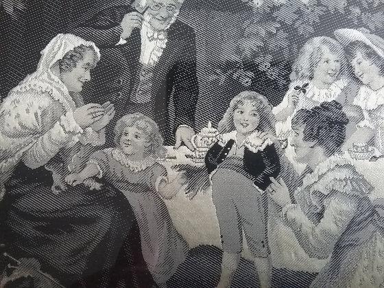 Kindergeburtstag - Seidenbild