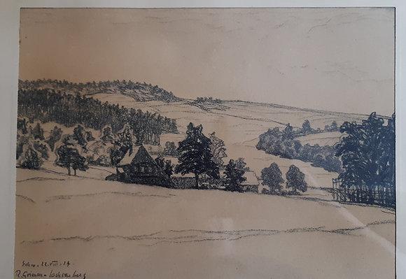 Richard Grimm-Sachsenberg - Zeichnung