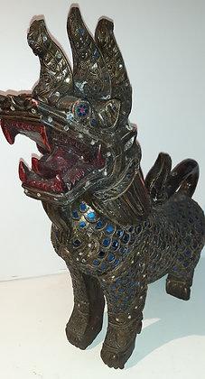 Drachenhund - Holz