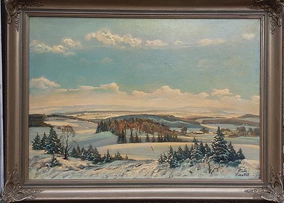 Sachs, Richard - Vogtland im Winter