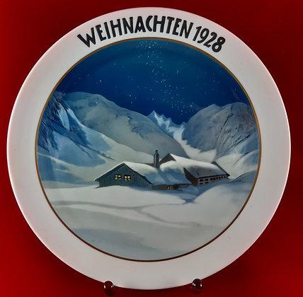 ROSENTHAL Weihnachten 1928 - christmas plate