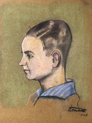 Konner 1928 (unleserlich)