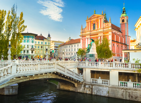Ljubljana is Hot in This Summer