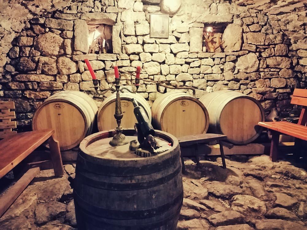 Family wine cellar