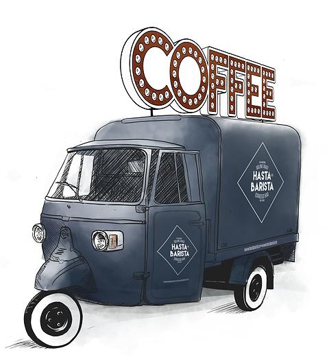 Mobiele koffiebar huren Utrecht