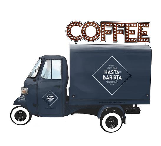 Koffiebar op lcatie - Hasta Barista