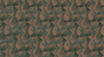 Fabric design used in London Transport in the 1930s