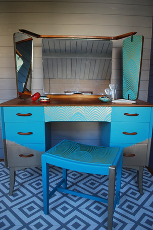 Teal and gold dressing table.jpg