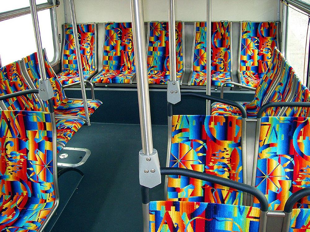 Metro seats in Los Angeles