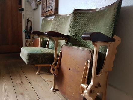 Vintage cinema seats commission