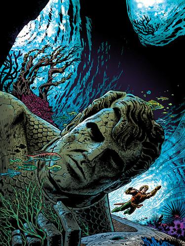 Aquaman Cover