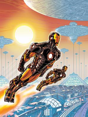 Iron Man Cover 3/5