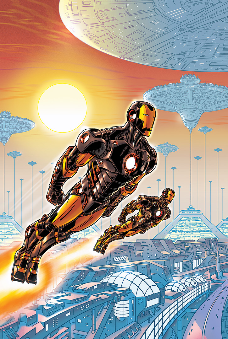 Iron Man Cover 3/5