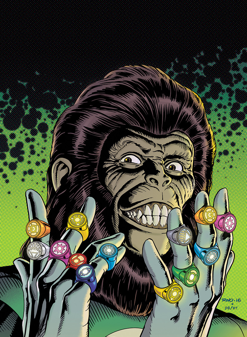 Planet of the Apes Cover 6/6