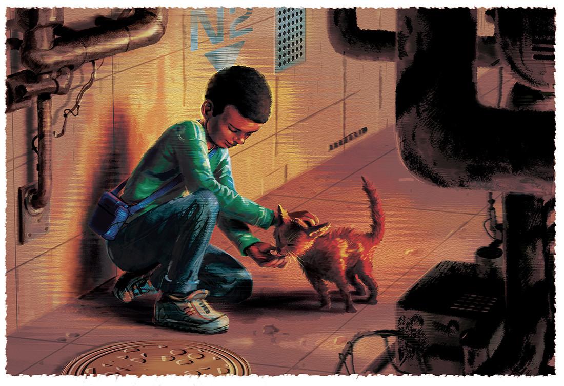 The Secret Cat 2/3