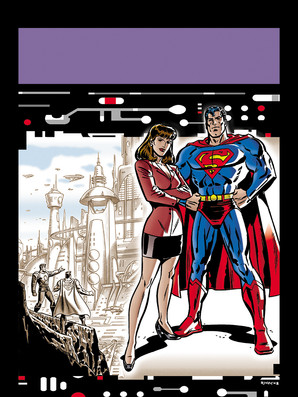 Superman Cover 1/4