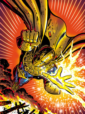 Dr. Fate Cover 4/5