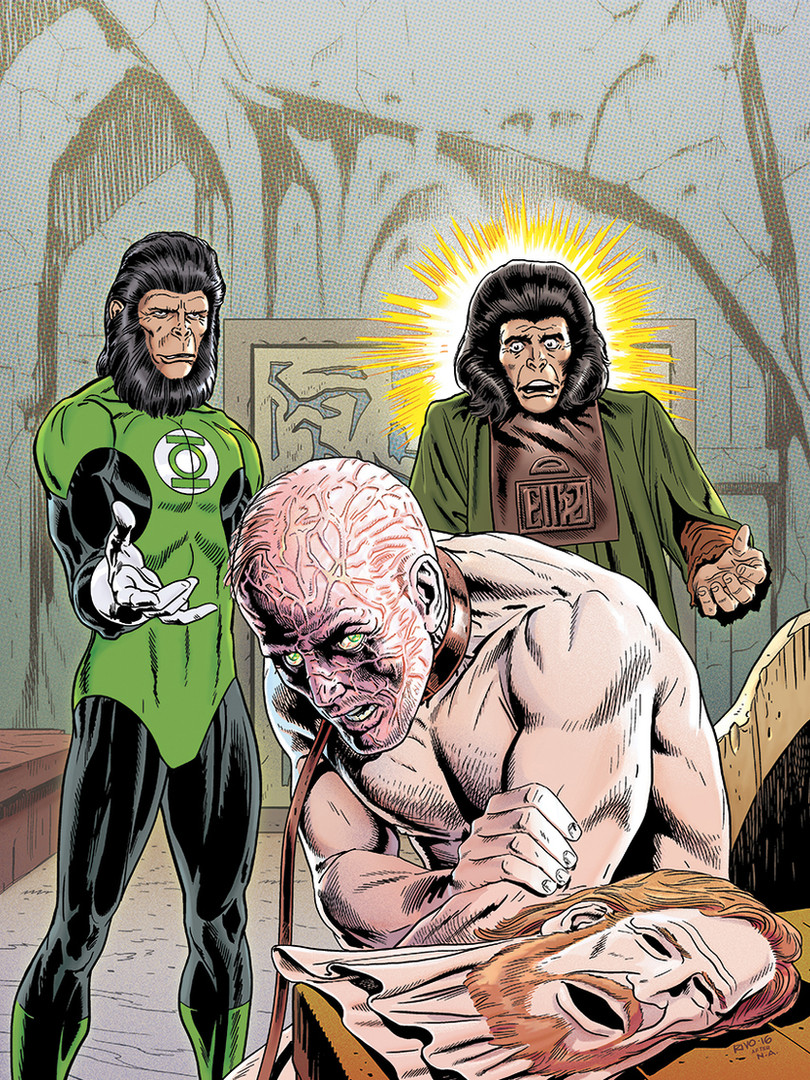 Planet of The Apes Cover 4/6