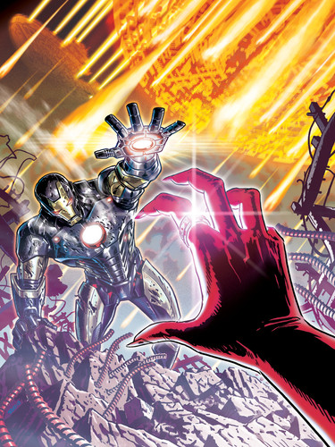 Iron Man Cover 4/5