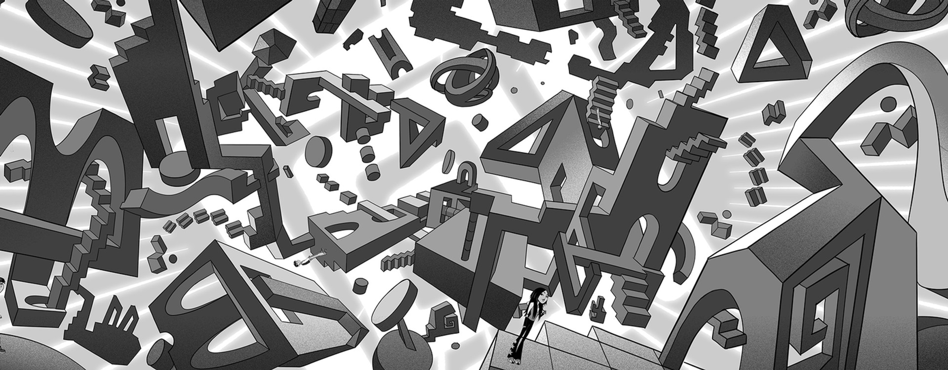 Escher Puzzle World