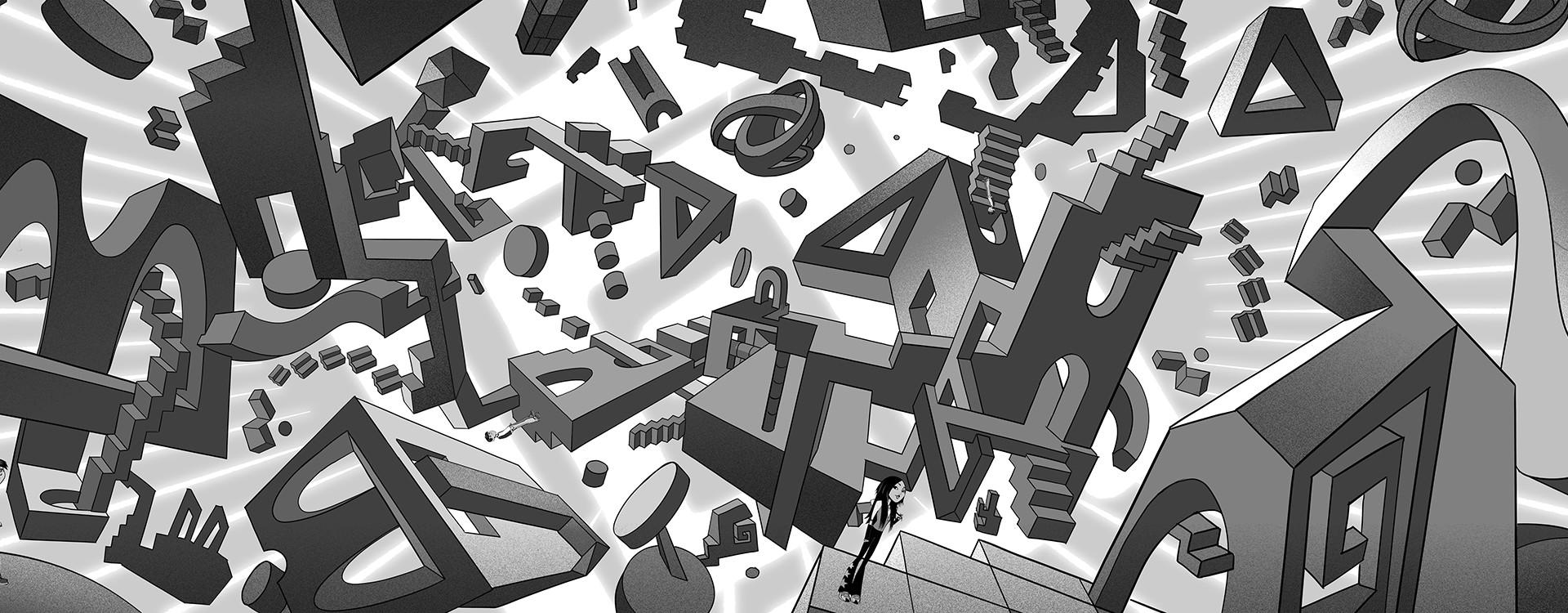 Escher Puzzle World