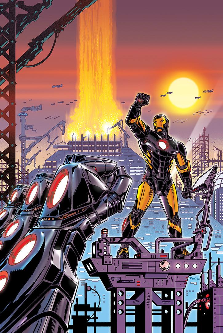 Iron Man Cover 2/5