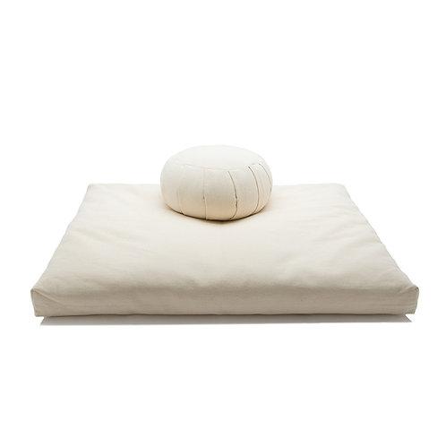 Zafu Zabuton Sets Buckwheat Meditation Floor Cushion