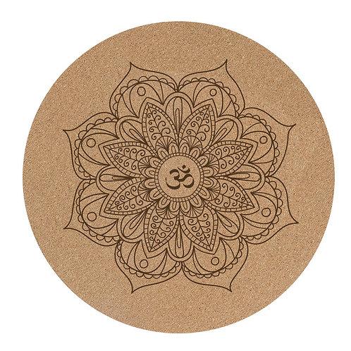 Om Meditation matt set of 2