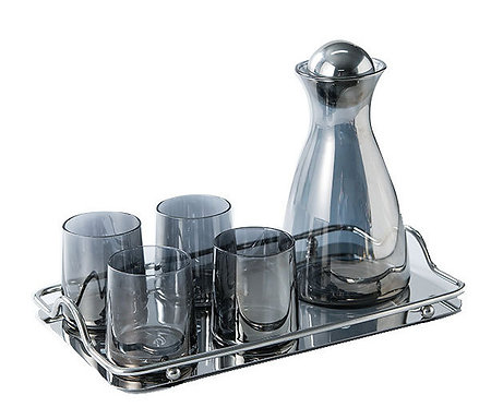 High borosilicate Nordic style Drink Set Water Jug with lid