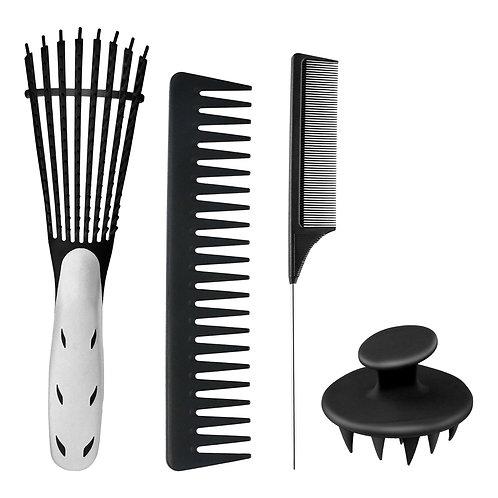 Detangle Hair Brush Set Anti Static Hair Brush