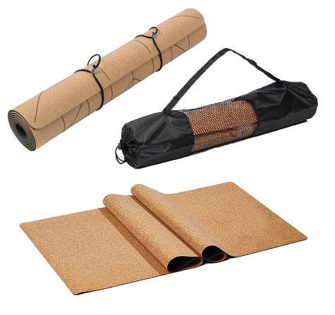 Non-slip Eco Friendly Cork Yoga Mat
