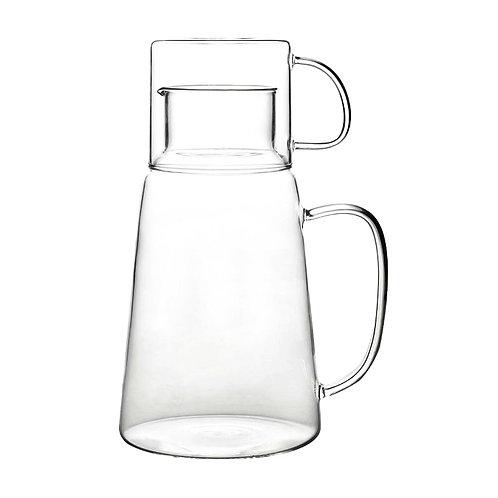 Kensington solo glass jug & glass