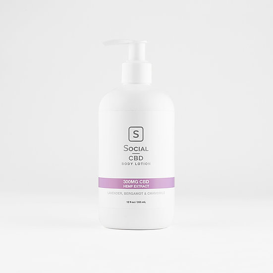 Social CBD Rest Body Lotion