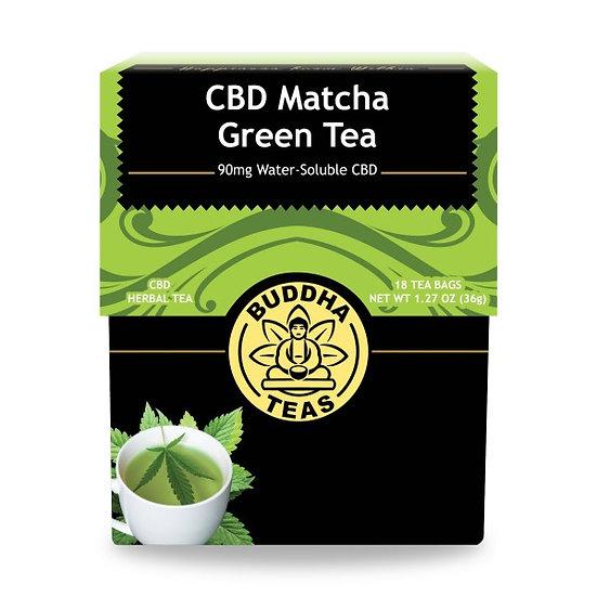 CBD Tea Blends Matcha Green