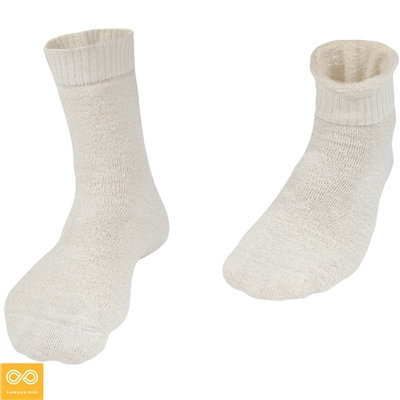 Rawganique Hertfordshire Organic Hemp Terry Anklet Socks