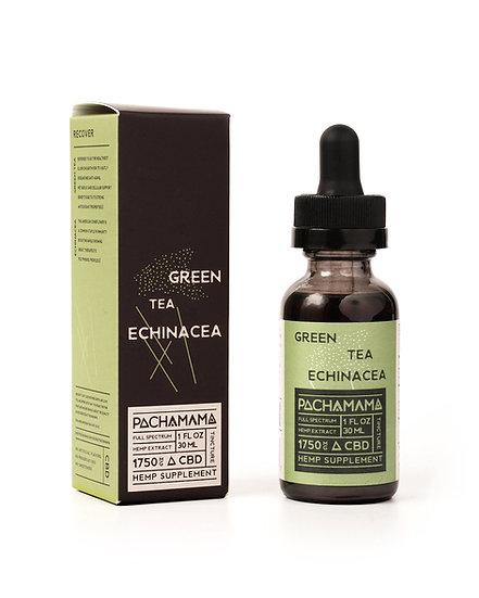 Pachamama Green Tea Echinacea CBD Tincture 750mg