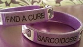 Sarcoidosis Awareness Bracelet