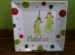 Mistletoes footprint