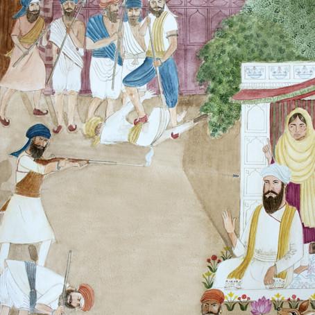 Mata Nanaki Chastising Dhirmal's Thugs