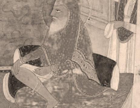 Baba Sahib Singh Bedi Mounting up for Battle