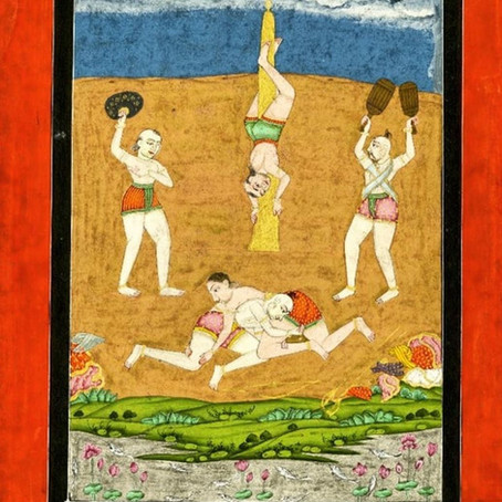 The Guru's Exercise Regime