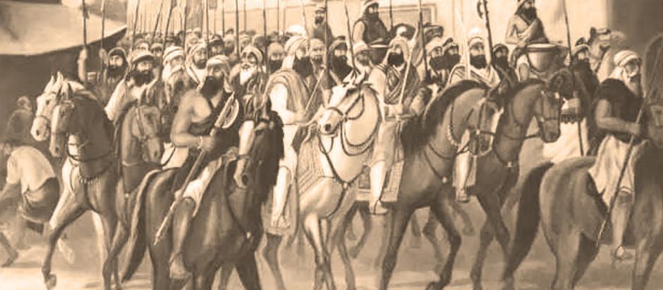Baghel Singh in Delhi 1783