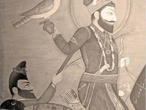 The desire for the Plume-Wearing Guru to reside in my mind - Nanak Prakash