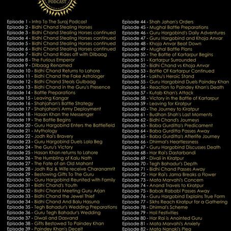 Episode List 