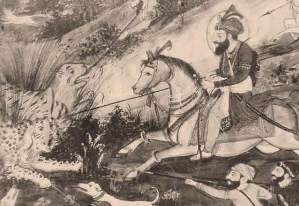 Guru Gobind Singh's Routine at Paonta Sahib - Gurbilas Patshahi 10 (1751)