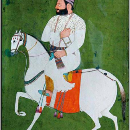 Guru Hargobind Contemporary Painting