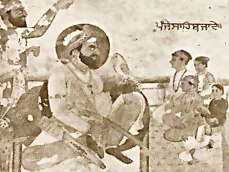 Baba Gurditta Anointed Guru by Guru Hargobind